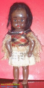 Maori doll 1950s